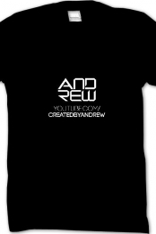 Official Andrew's t-shirt
