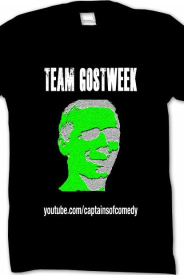 6a641a5da Team Gostweek Shirt - CaptainsOfComedyINACTIVE Merch - Online Store on  District Lines