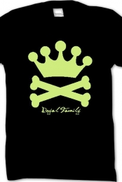 Crown and Bones (Lime)