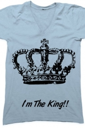 I'm The King V-Neck