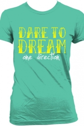 One Direction Dare to Dream T-Shirt - Mint