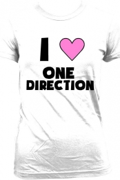 One Direction Heart T-Shirt