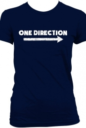 One Direction Arrow T-Shirt - Navy