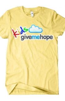 Kids Give Me Hope Logo Tee