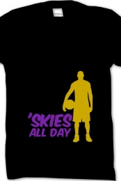 'skies all day