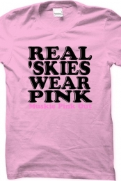 Muskie Pink Out - Real 'skies wear pink
