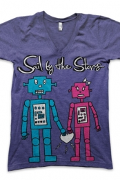 Robot Love V-Neck