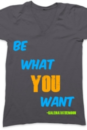 Be What You Want V-Neck
