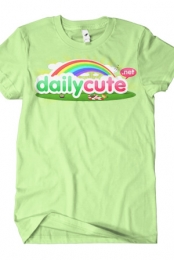 DailyCute Logo Tee