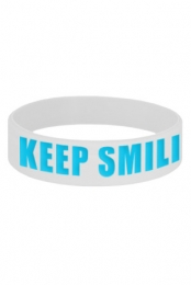 Keep Smiling Wristband