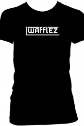 Wafflez Women's Black T-Shirt