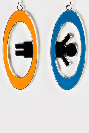 Inter-Spatial Portal Earrings