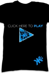 'Click here to play' Limited Edition Official KKGProductions shirt