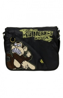 Evil Monkey Messenger Bag