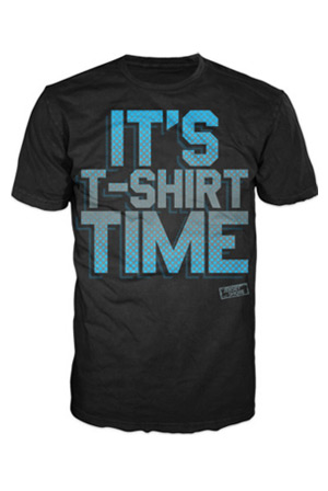 98ef2b888 T-Shirt Time T-Shirt - Jersey Shore T-Shirts - Online Store on District  Lines