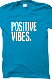Male: Positive Vibes (teal)