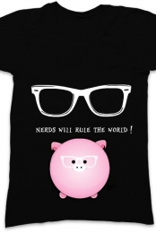 Nerds will rule the world! t-shirt
