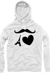 eiffel love moustache
