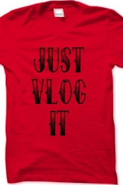 Just Vlog It Red/Black
