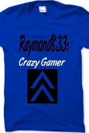 Raymond833 Crazy Gamer (Boy) (Blue)
