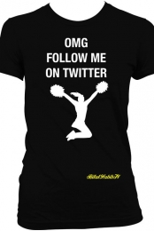 Follow Me On twitter - Women's T-Shirt