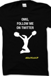 Follow Me On twitter - Men's T-Shirt