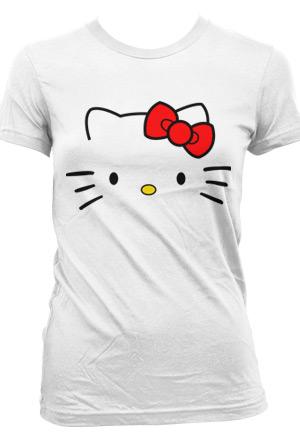 Womens Hello Kitty Tee Hello Kitty - Toon Town Hello Kitty - Online Store  on District Lines 1da128f5c9