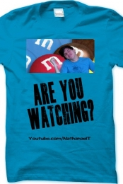 Are You Watching Mens T (Blue)