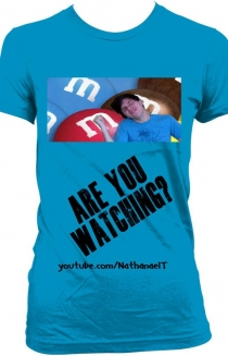 Are You Watching Womens T (Blue)