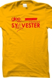 Glee reg T-Shirt (gold)