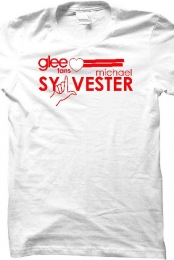 Glee reg T-Shirt (white)