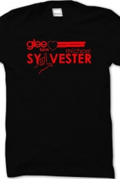 Glee reg T-Shirt (Black)