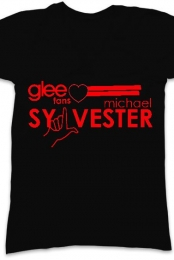 Glee V-neck T-Shirt (Black)