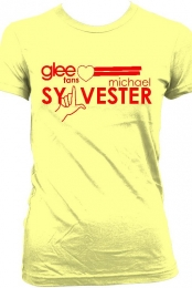 Glee women's T-Shirt (yellow)