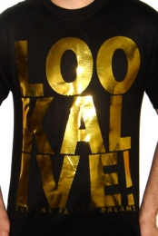 Look Alive (Black w/ Gold Foil)