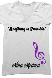 'Anything is Possible' V-Neck