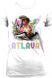 Atlava Pirate girl (F)- Black text