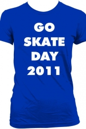 GIRLS-GO SKATE 2011 T-SHIRT