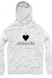 GIRLS-I LOVE SKATEBOARDING HODDIE