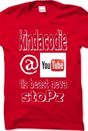 KindaCodie Support Shirt