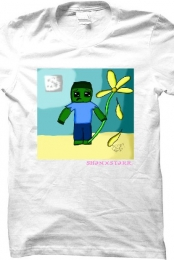 Men's Sad Zombie T-Shirt