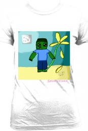 Women's Sad Zombie T-Shirt