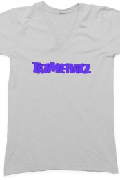tazmerazz V-neck Light Gray