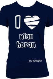 I Love Niall Horan- Dark Blue
