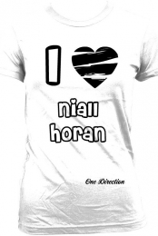 I Love Niall Horan- White