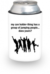 jumping people (can holder)
