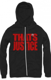 That's Justice Zip Up Hoodie (Black)