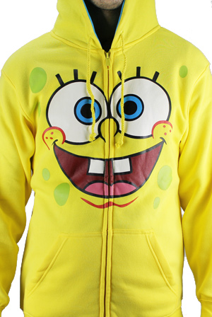 SpongeBob Hoodie T-Shirt - SpongeBob SquarePants T-Shirts - Online Store on  District Lines b3caf2496