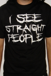I See Straight People (Black)