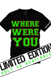Where Were You (Black)